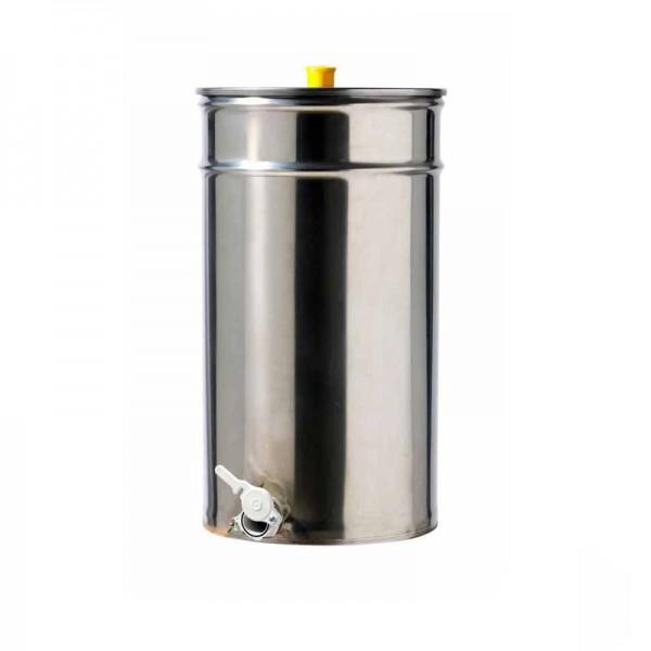 Ανοξείδωτο δοχείο μελιού 75 lit