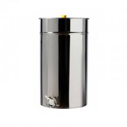 Ανοξείδωτο δοχείο μελιού 200 lit BOUGAS