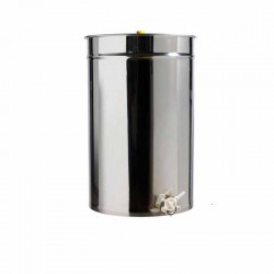 Ανοξείδωτο δοχείο μελιού 500 lit BOUGAS