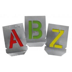 Γράμματα σήμανσης κυψελών (Α-Ζ)