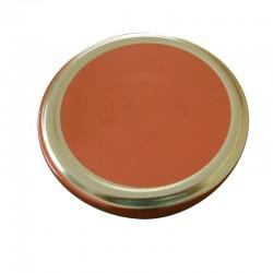 Καπάκι κόκκινο με χρυσό στεφάνι Φ 82