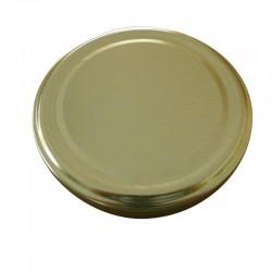 Καπάκι Χρυσό Φ 63 Για Βάζο Τέταρτο 212 ml