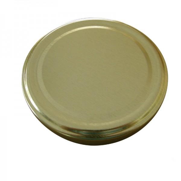 Καπάκι Χρυσό Φ 66 Για Βάζο 500 ml