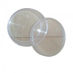 Πλαστική Κασετίνα Κηρήθρας Στρογγυλή Μικρή (Μελικηρίδιο)
