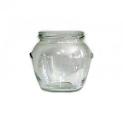 Βάζο γυάλινο 580 ml Orcio