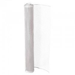 Πλέγμα Μπαλκονιού Grasher Λευκό, 1,20m x 50m