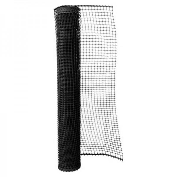 Πλέγμα Μπαλκονιού Grasher Μαύρο, 1m x 50m