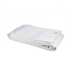 Τέντα μουσαμά λευκή Grasher 120 γρ. 4m x 6m
