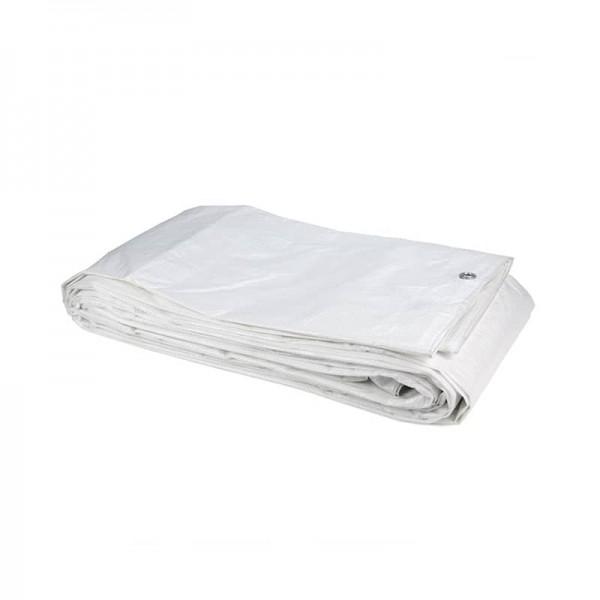 Τέντα μουσαμά λευκή Grasher 120 γρ. 6m x 10m