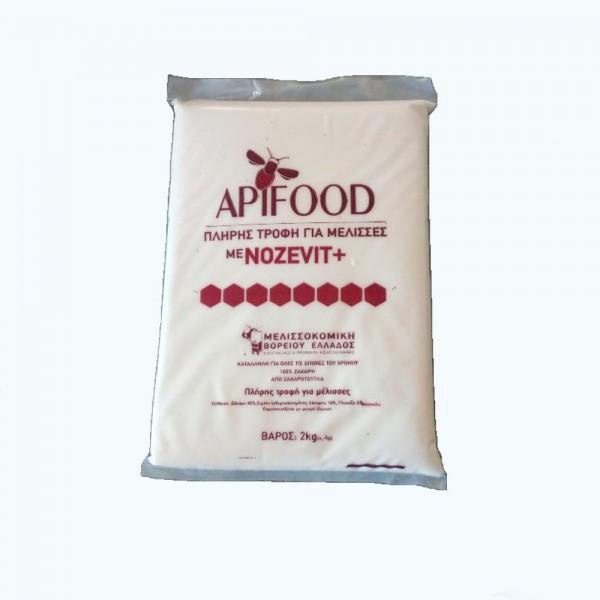 Πάστα Apifood με Nozevit Plus 2kg - Μελισσοκομικής Βορείου Ελλάδος