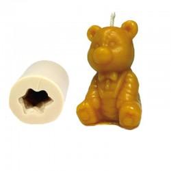 Καλούπι σιλικόνης αρκούδος