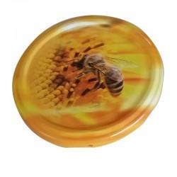 Καπάκι Μέλισσα Σε Λουλούδι