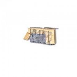 Κλουβί μεταφοράς βασιλισσών ξύλινο ορθογώνιο