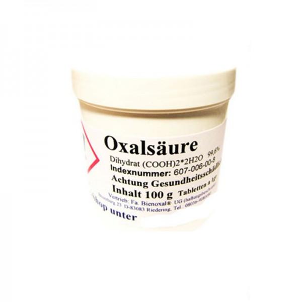Οξαλικό οξύ ταμπλέτες 1 γρ (100 τεμ)