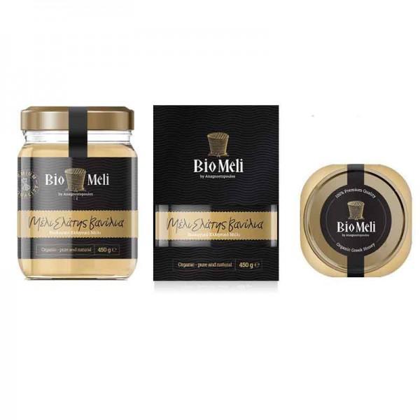 Βιολογικό Μέλι Ελάτης Βανίλια 300 gr Bio Μέλι
