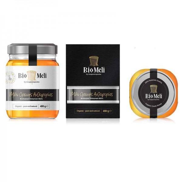 Βιολογικό Μέλι Ορεινής Ανθοφορίας 300 gr Bio Μέλι